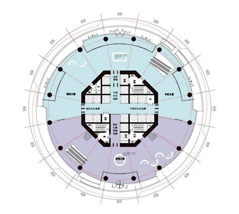 Simple Floor Plan Design fushun tower by ua studio 7