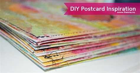Postcard Handmade - join the diy postcard by ihanna send your handmade