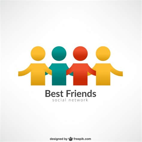 free images for friends best friends logo vector free