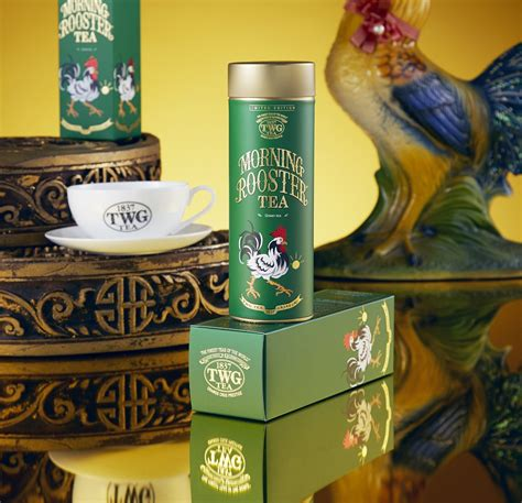 twg new year twg tea awakens the new year with morning rooster tea