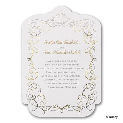 22 best disney tale cinderella wedding invitations