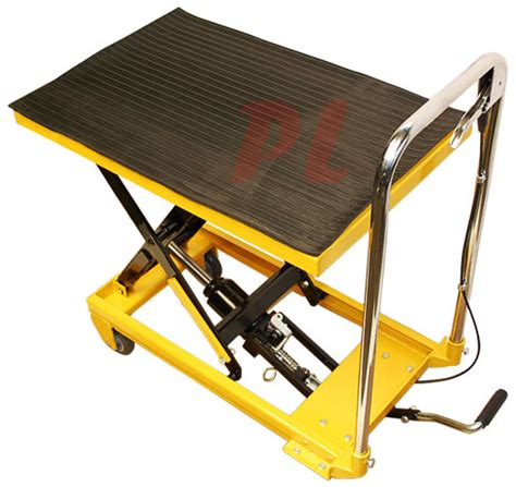 Hydraulic Table Lift by Heavy Duty Mobile 330lb Hydraulic Table Lift 9 Quot To 28