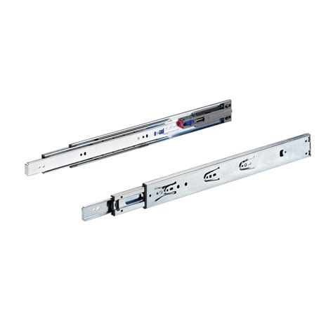 small push to open drawer slides everbilt 20 in full extension push to open drawer slide