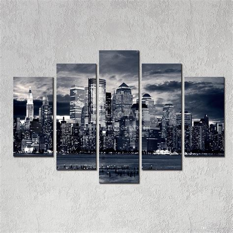 new home decor 2019 modern home decor new york city painting black white