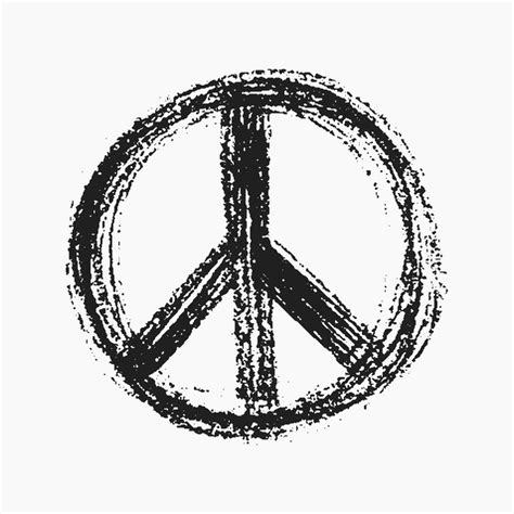 25 Best Ideas About Peace Sign Tattoos On Pinterest Peace Sign With Color On Inside