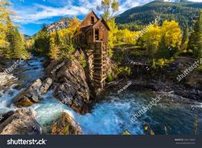 crystal mill wooden powerhouse located stock photo 230115853 shutterstock