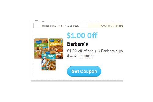 barbara's coupon code