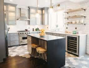 large kitchen cabinets grey kitchen cabinets brass accents this or that cococozy