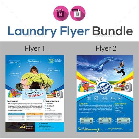 laundry flyers templates laundry banner graphics designs templates from graphicriver