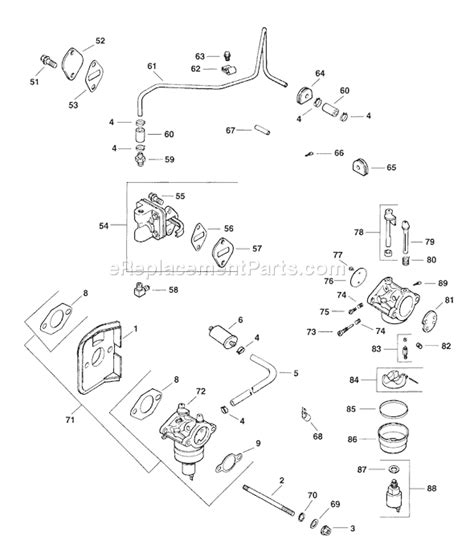 kohler cv15s parts diagram kohler cv14 1458 parts list and diagram