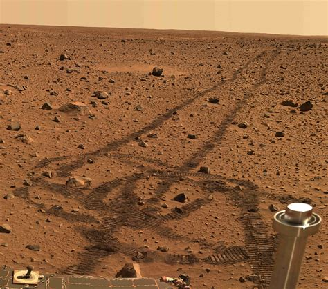 Are From Mars is there photos from rovers of mars specially sky
