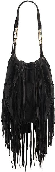 14 6 Wallet Bonia 8460 Sale allsaints bonita fringe bag in black lyst