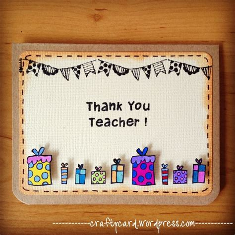 Teachers Day Handmade Card Ideas - 17 best ideas about handmade teachers day cards on