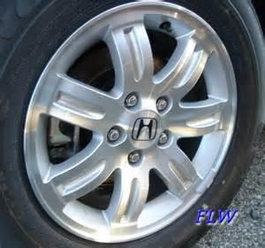 Honda Factory Wheels 2005 Honda Cr V Oem Factory Wheels And Rims