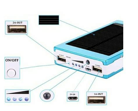Power Bank Solar Surya Cell 80 000 Mah Limited power bank solar cell panel surya 10 000mah