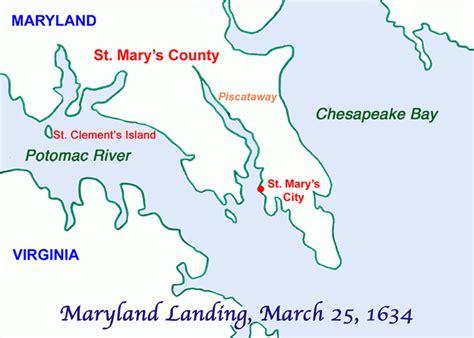 maryland day map maryland