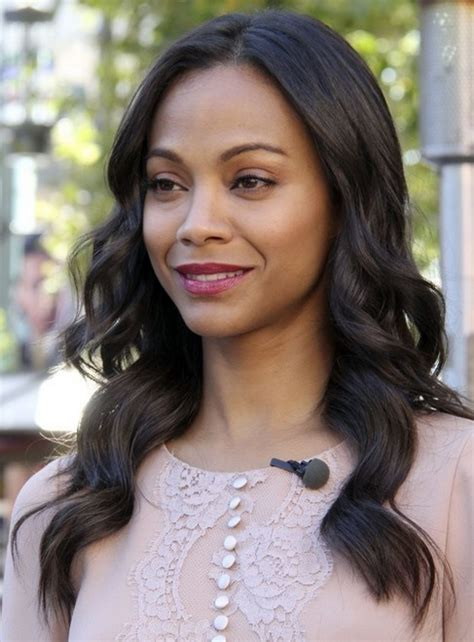 hairstyles zoe saldana 2014 zoe saldana hairstyles easy long wavy hairstyle