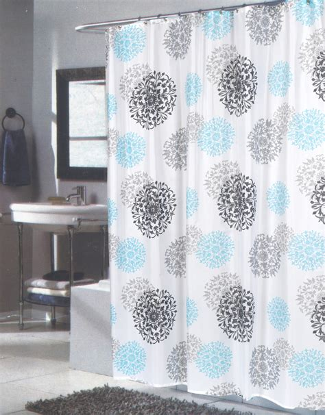 84 shower curtain carnation home fashions inc extra long fabric shower