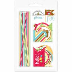 doodlebug pixies doodlebug design day to day collection pixies straw