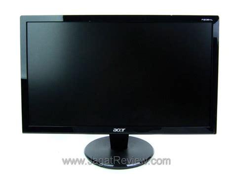 Monitor Acer Baru acer p206hl monitor 20 inci baru dari acer jagat review
