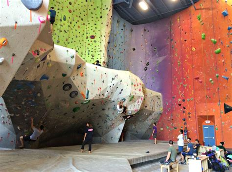 indoor rock wall know detroit