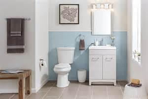 on trend bathroom ideas the home depot blog gray bathroom tile home depot bathroom tile bathroom tile
