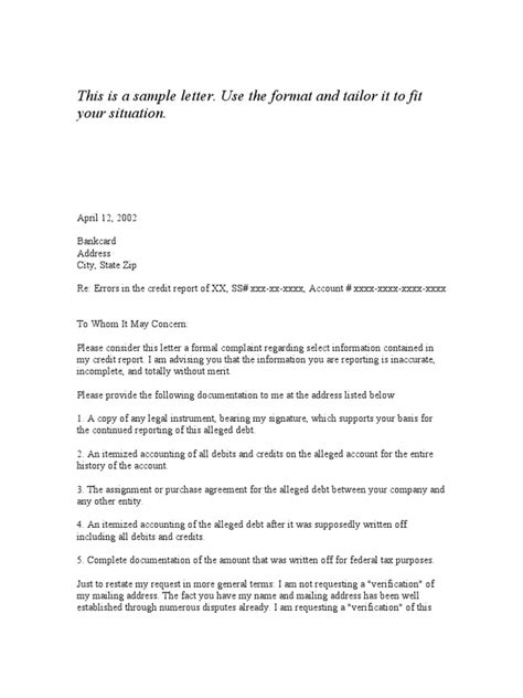 Proof Of Address Letter From Parent Verification Letter Template