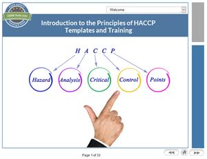 introduction to the principles of haccp tutorial
