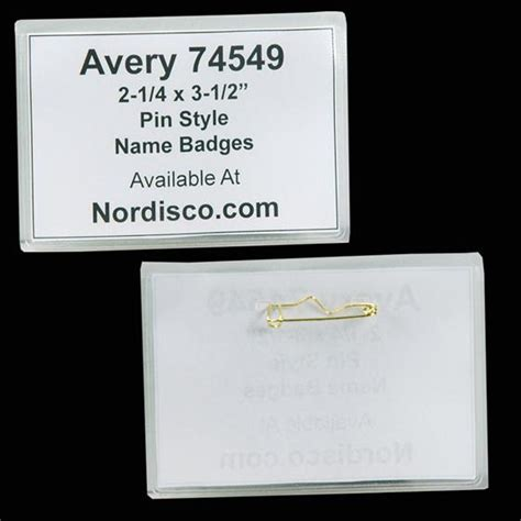 avery name badge template 74549 avery 74549 template for word