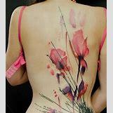 Opium Poppy Flower Tattoo | 600 x 674 jpeg 48kB