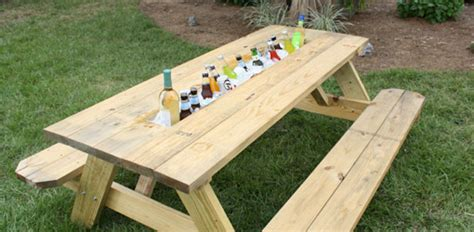 Cheap Park Bench How To Make A Picnic Table Drink Trough Today S Homeowner
