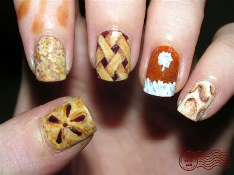 thanksgiving nail art 25 thanksgiving day nail arts for girls pretty designs