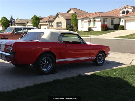 64 mustang shelby 1966 65 64 ford mustang convertible 289 v8 shelby g t 350