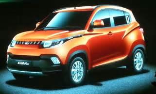 mahindra new upcoming cars mahindra s upcoming cars in 2016 telugumirchi