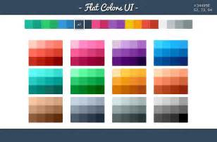 flat colors is flat ui design color more professional designhill