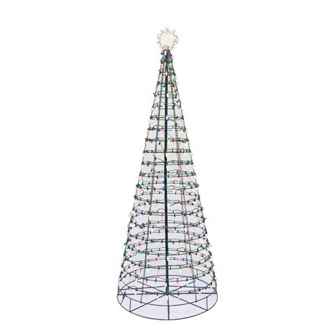 color switch plus christmas tree color switch plus 6 led pre lit cone tree