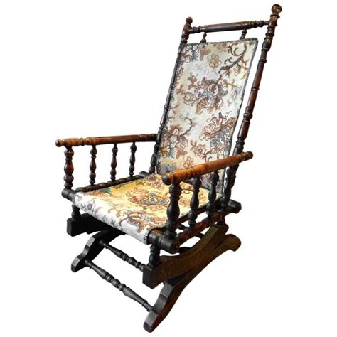 american rocking chair styles antique armchair american rocking chair mahogany 19th