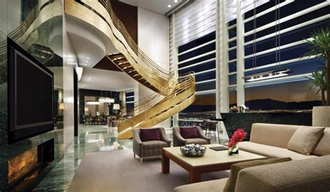 hotel suites in vegas with 3 bedrooms aria sky villa 11 book a suite blog