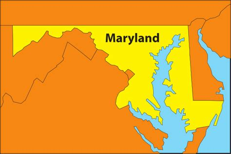 maryland map clipart maryland map clip at clker vector clip