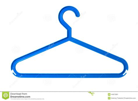 photo hanger plastic hanger stock photo image 44873381