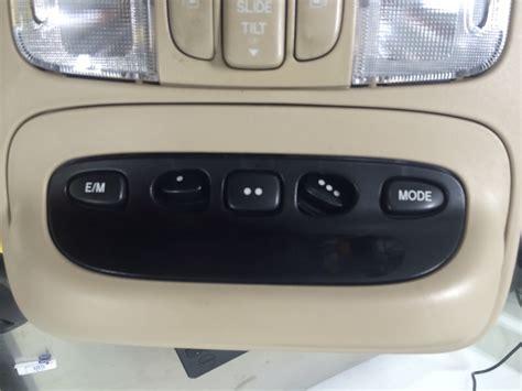 overhead door homelink homelink repair broken buttons