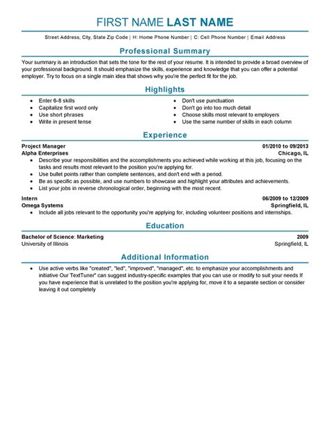 simple high school resume template no job experience sample resume