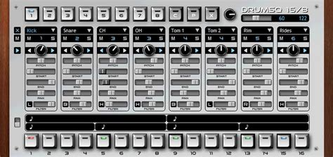 drum pattern sequencer vst xtrabits msq 16 10 drumsq 16 8 q synth plugin for windows