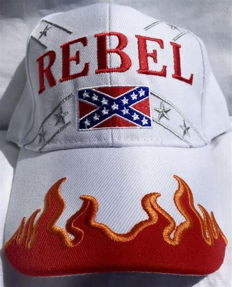 Topi Baseball Black Rebell Colour Blue rebel cap in 6 different colors dl grandeurs confederate rebel goods