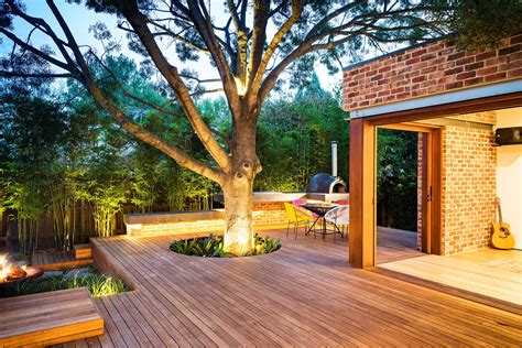 family fun modern backyard design for outdoor experiences