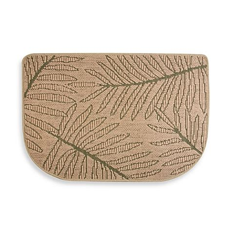 Bed Bath And Beyond Kitchen Rugs by Buy Bacova 174 Palm Jute Slice Kitchen Rug From Bed Bath Beyond