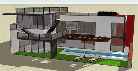 sketchup home design fresh file sketchup design home