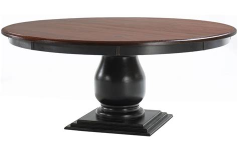Round Pedestal Dining Table With Leaf Roselawnlutheran 72 Pedestal Dining Table
