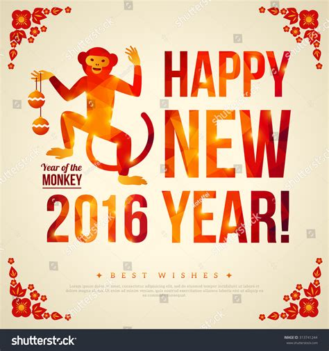 new year for goat 2016 new year greeting year of monkey 28 images monkey year