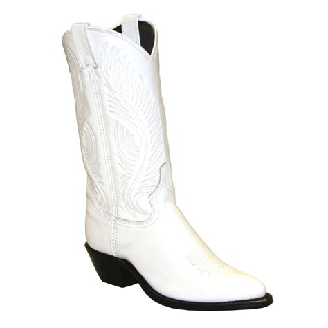 ab 9054 11 quot white garment cowhide western boot
